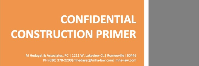 Confidential Construction Primer