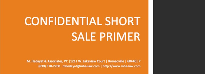 Confidential Short Sale Primer