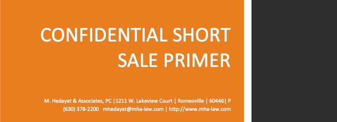 Confidential Short Sale Primer